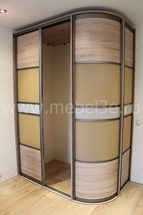 Радиусный шкаф 76-1