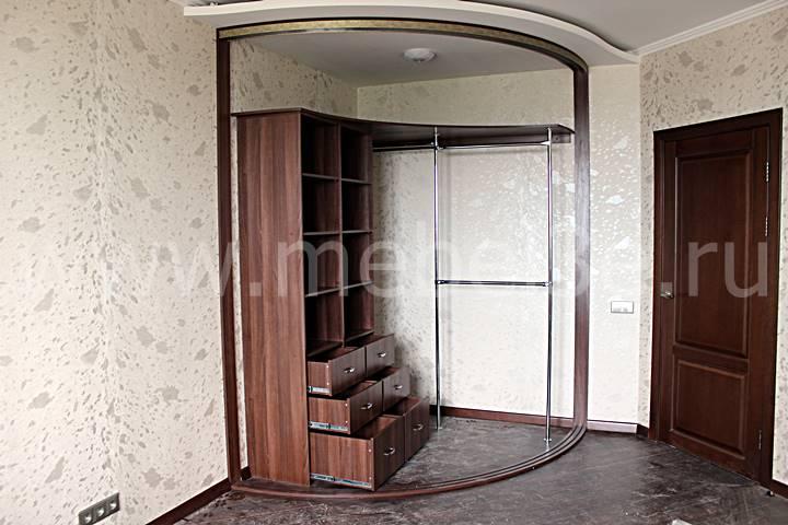 Радиусный шкаф 79-2