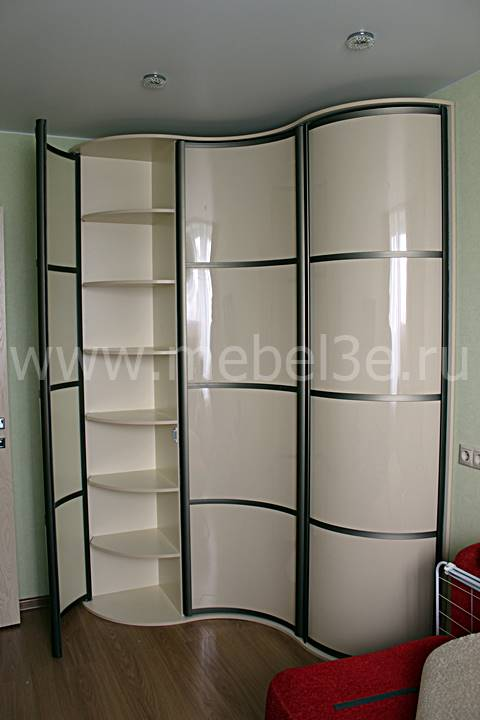 Радиусный шкаф 80-1