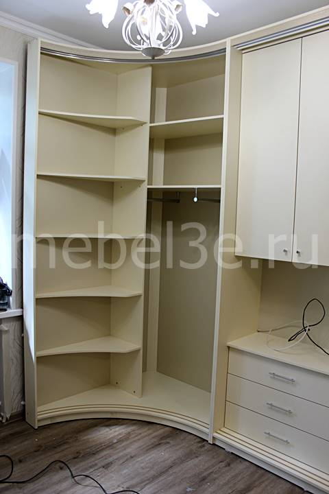 Радиусный шкаф 83-4