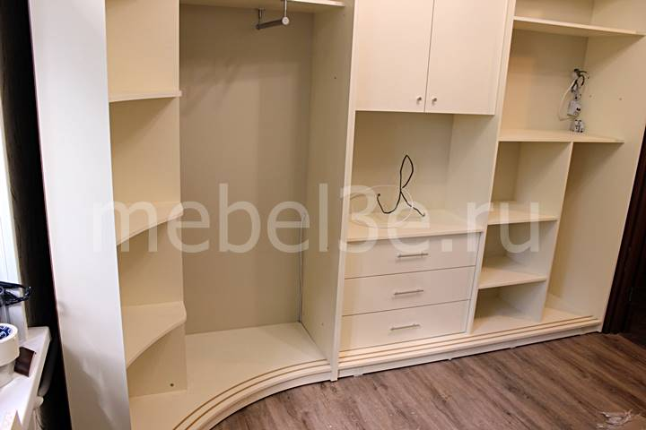 Радиусный шкаф 83-5