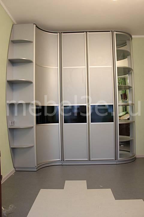 Радиусный шкаф 84