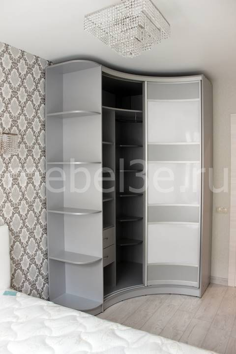Радиусный шкаф 86-2