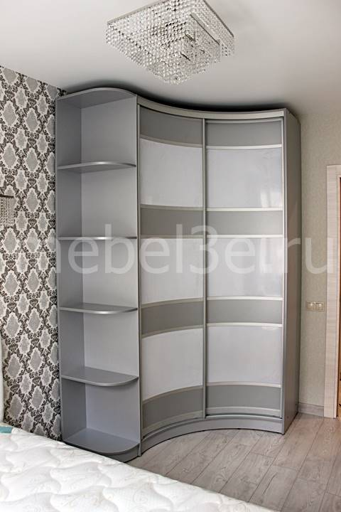 Радиусный шкаф 86
