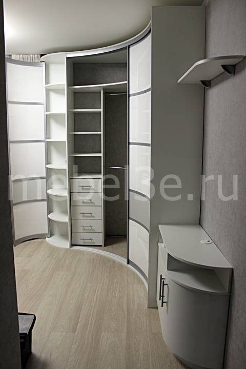 Радиусный шкаф 90-1