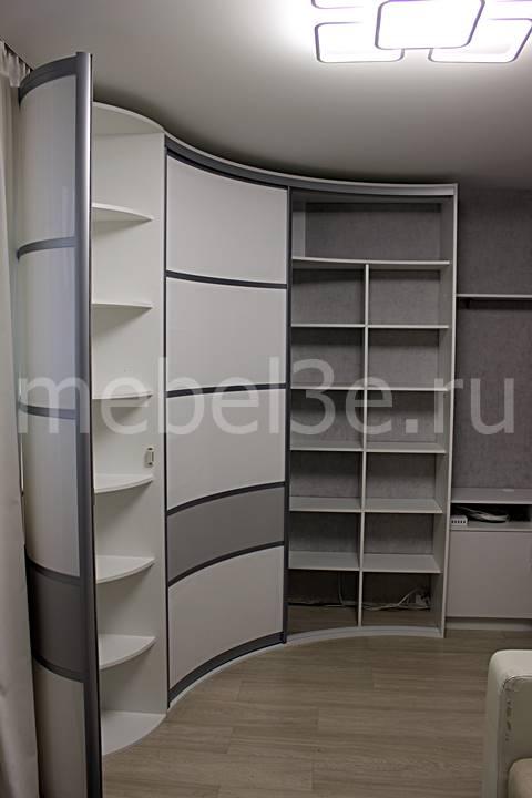 Радиусный шкаф 90-2