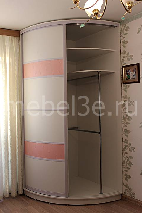 Радиусный шкаф 91-1