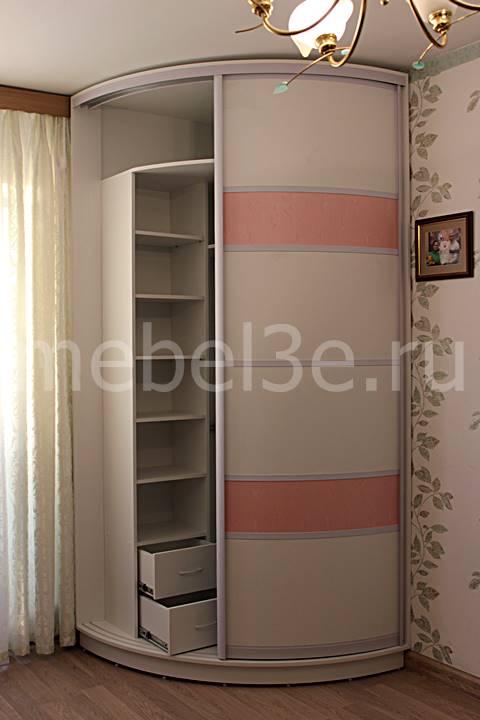 Радиусный шкаф 91-2